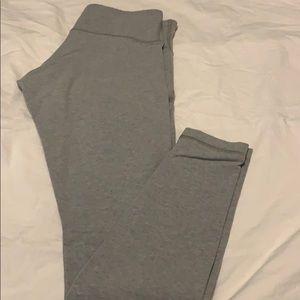 Midrise wonder under pants in light gray